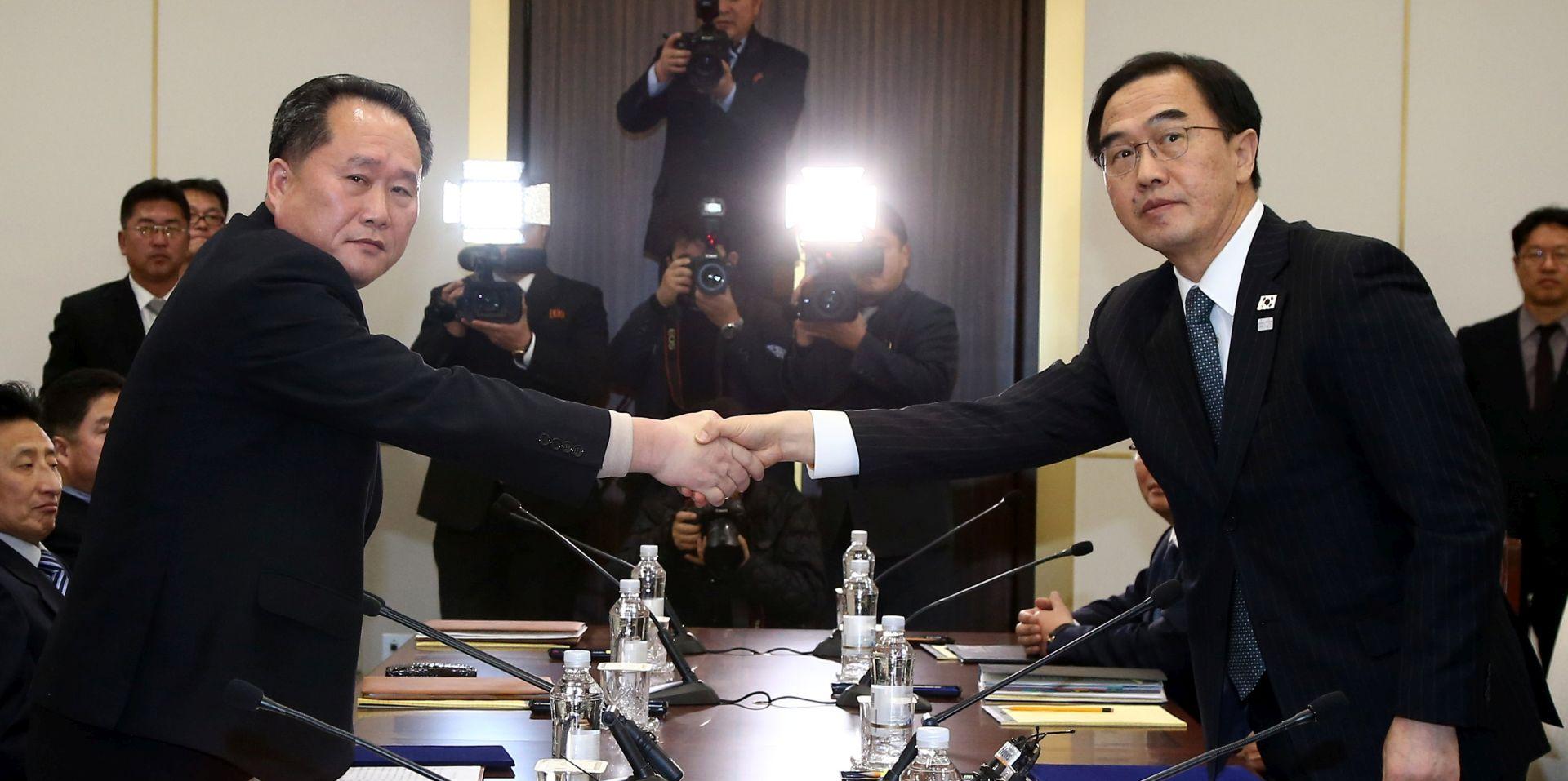 Sjeverna i Južna Koreja obvezale se na rješavanje problema kroz dijalog