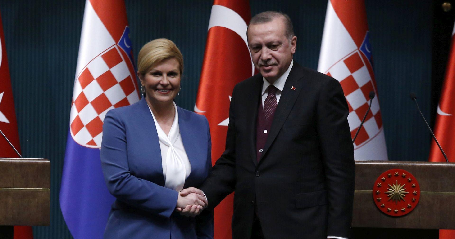 Kritike iz Sarajeva na razgovor Grabar-Kitarović i Erdogana
