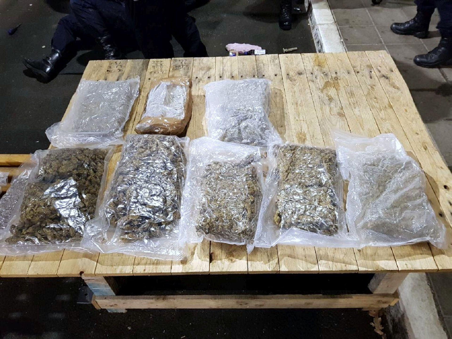 Hrvat unosio 20 kilograma marihuane iz Srbije