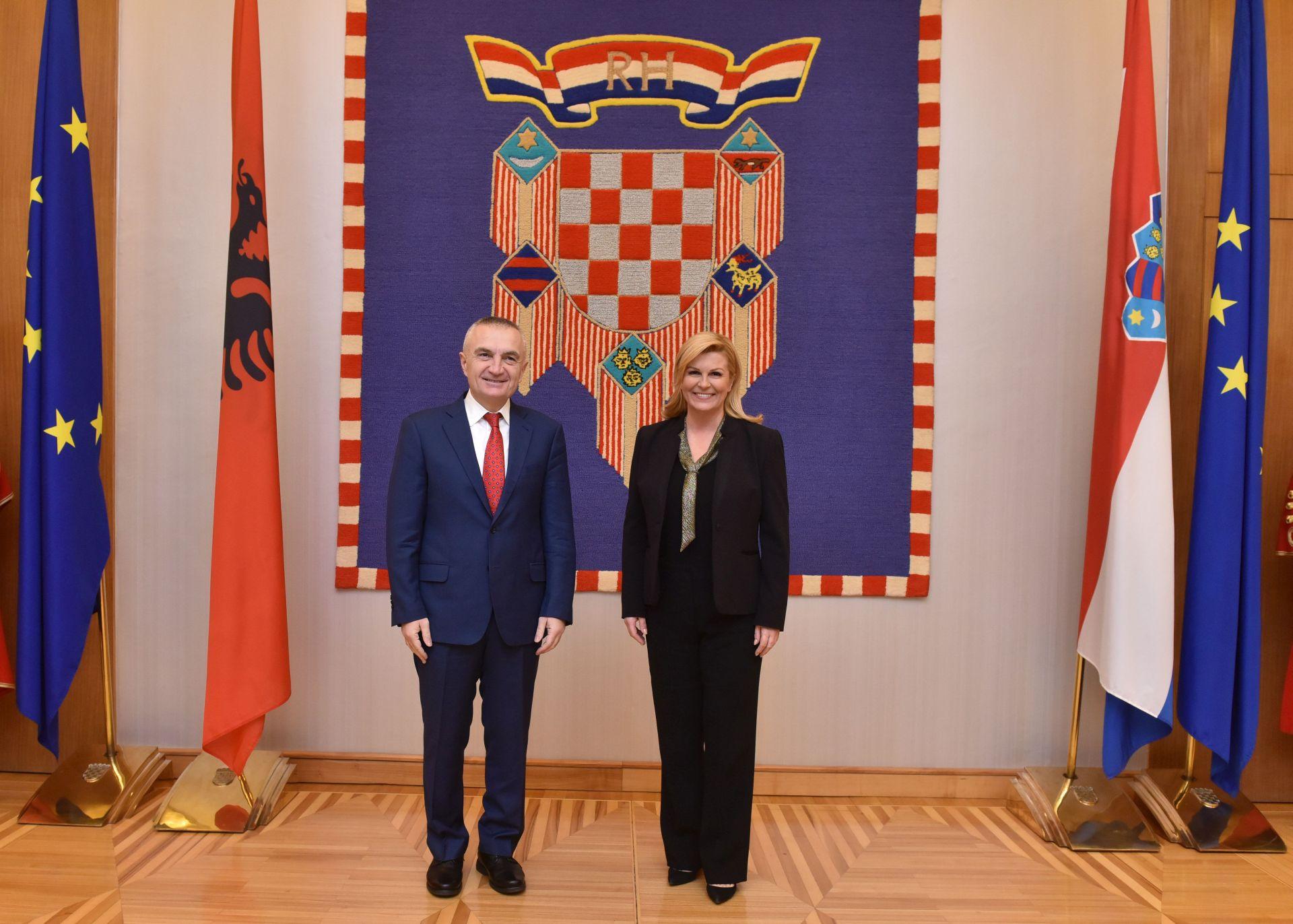 Odnosi Hrvatske i Albanije su vrlo dobri