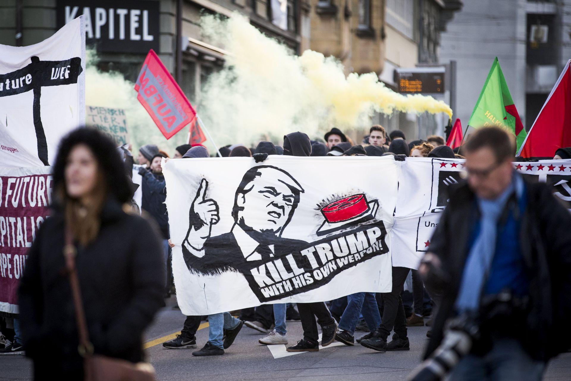 Upitan Trumpov dolazak u Davos