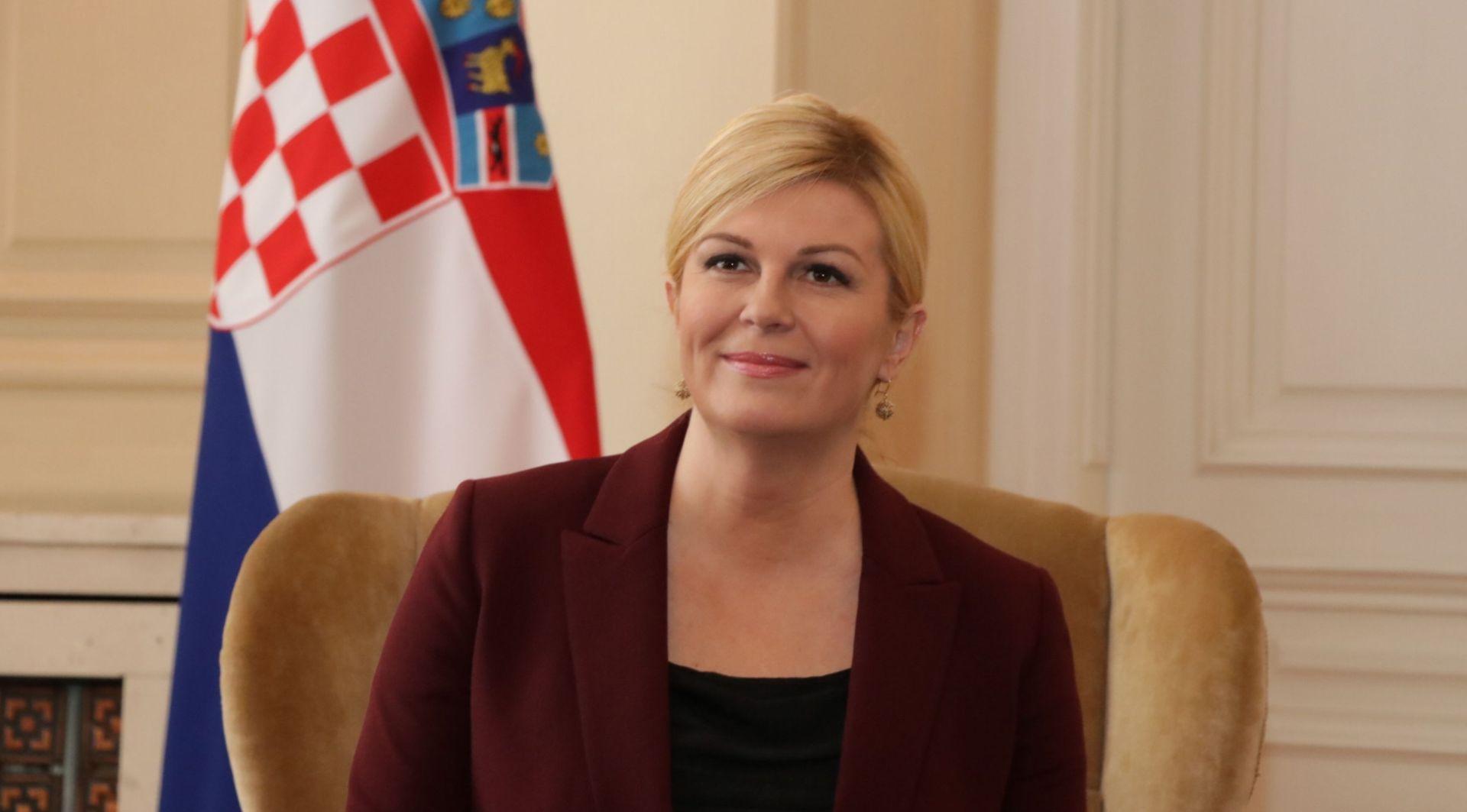 Hrvatska predsjednica skratila posjet BiH, danas se vraća u RH