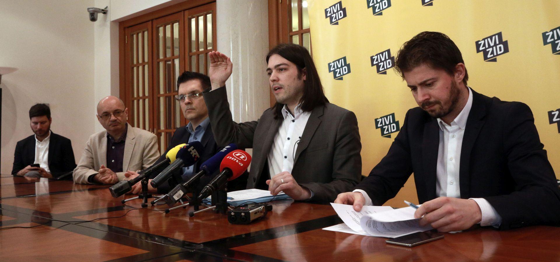 'Izmjenama Poslovnika žele likviditati Živi zid i Most'