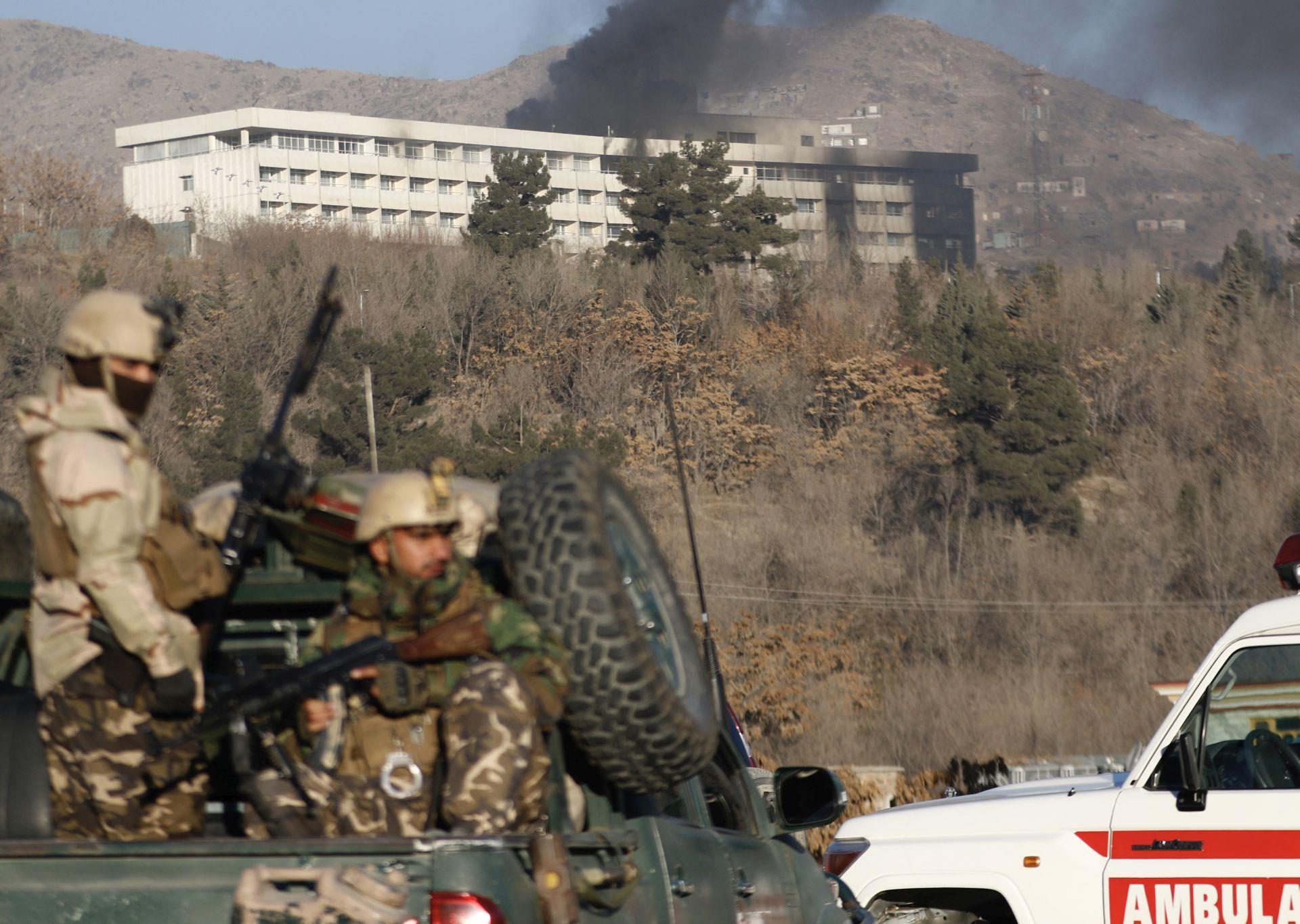 Talibani napali centar Kabula, skoro 100 poginulih
