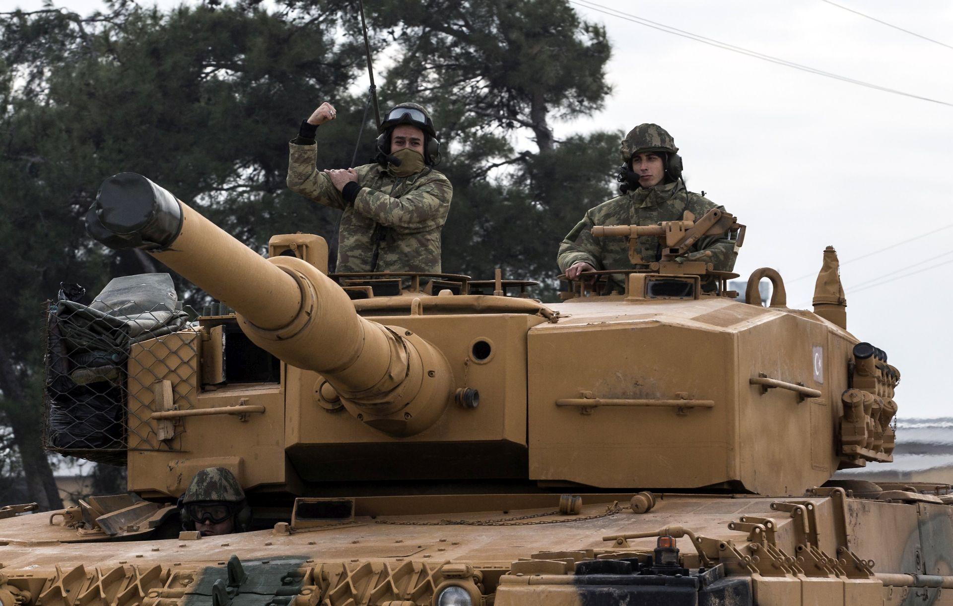 Turske snage ušle u centar grada Afrina