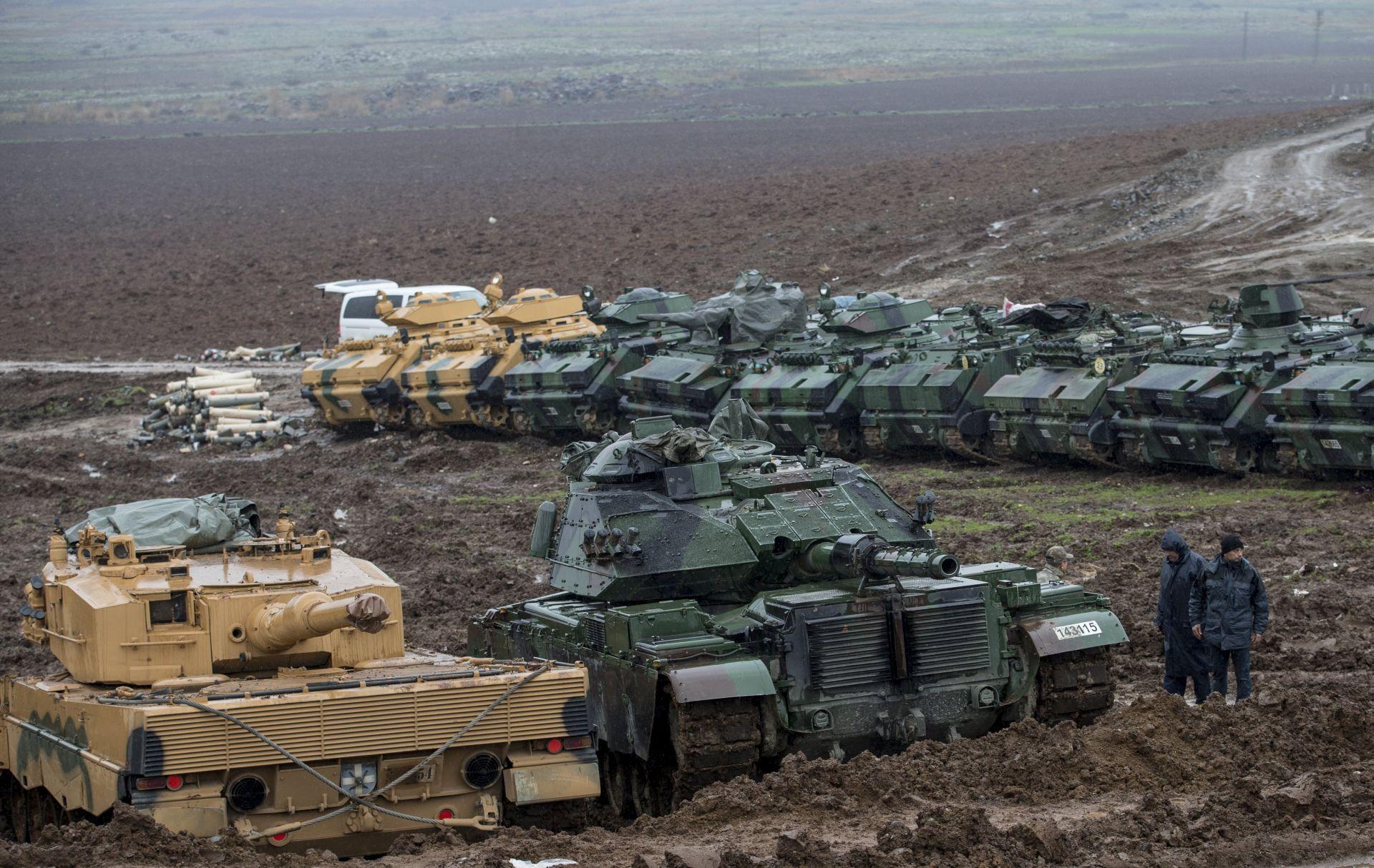 Turska i SAD dogovorili plan povlačenja kurdske milicije iz Manbidža u Siriji