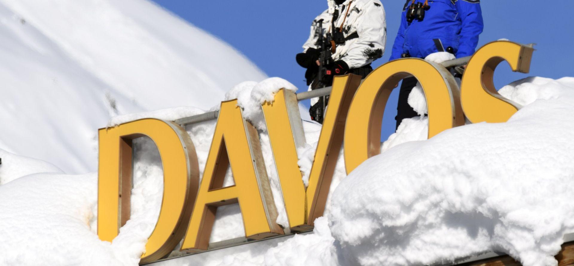 Glavne zvijezde Davosa su Merkel, Macron, Trump i May