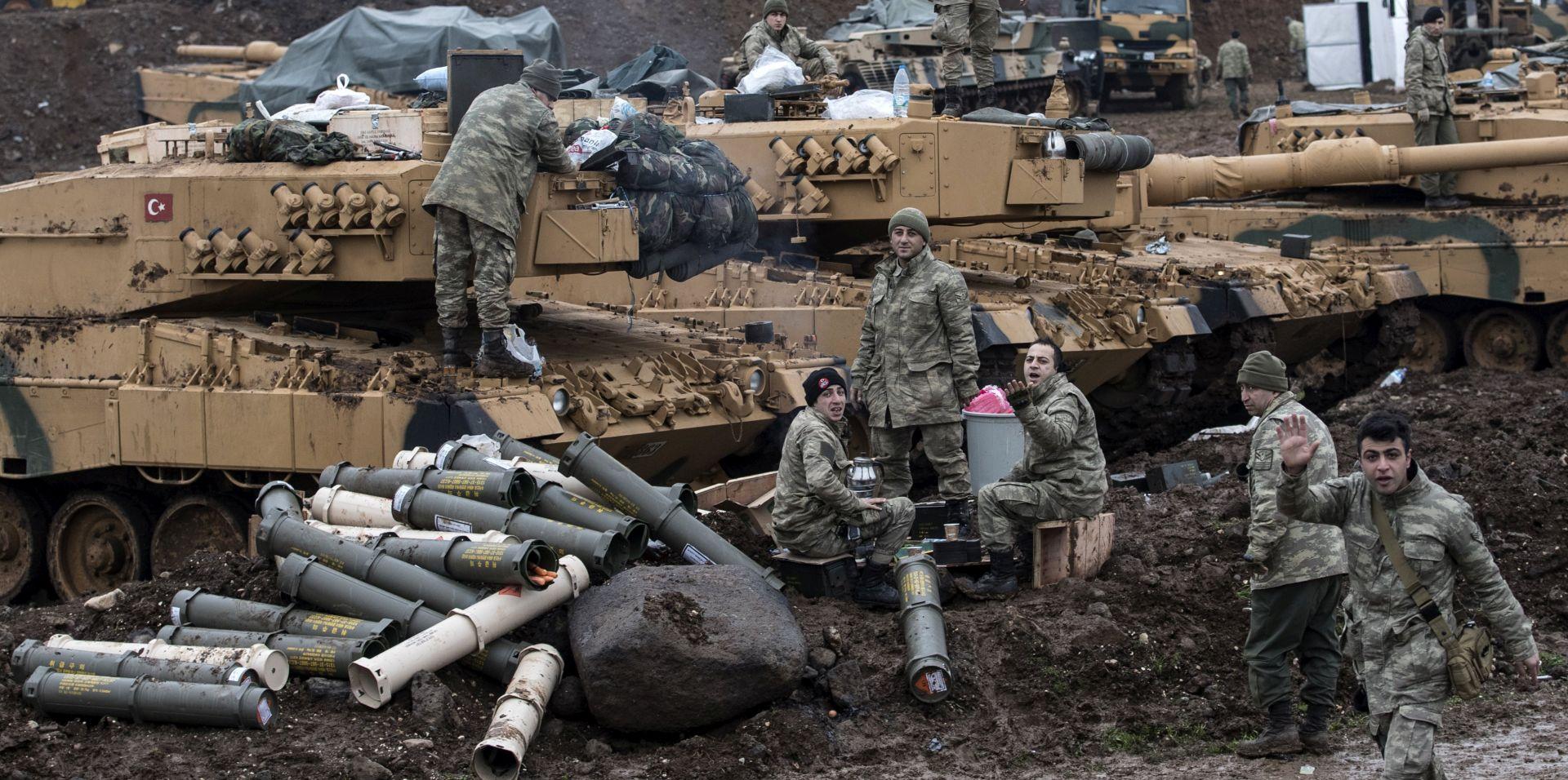 Sedam turskih vojnika poginulo danas u Siriji