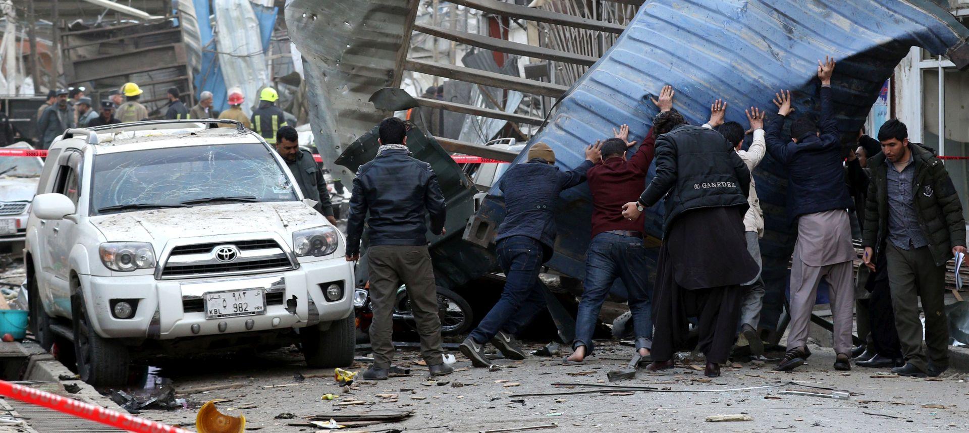 Broj žrtava u Kabulu narastao na 95, 191 osoba ranjena