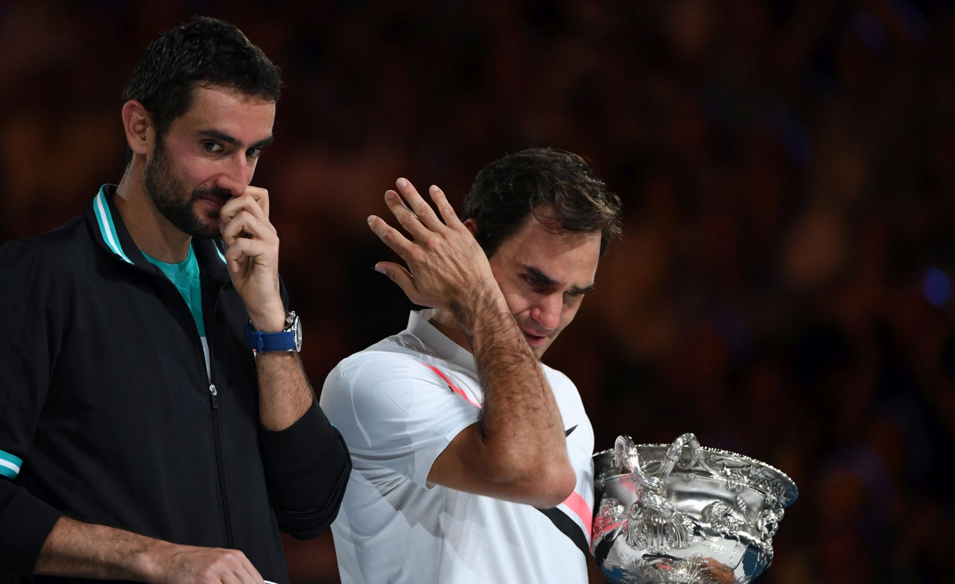 Veliki Federer u pet setova 'slomio' Čilića za 20. Grand Slam naslov