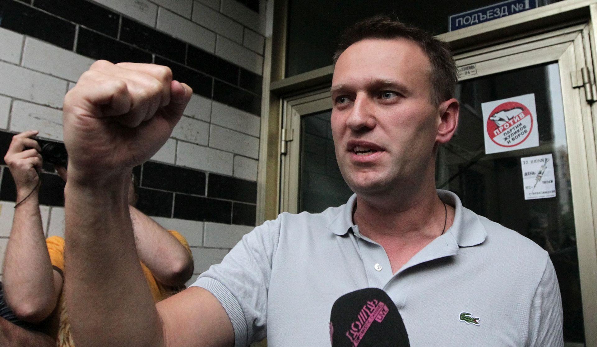 Aleksej Navalni uhićen po izlasku iz zatvora