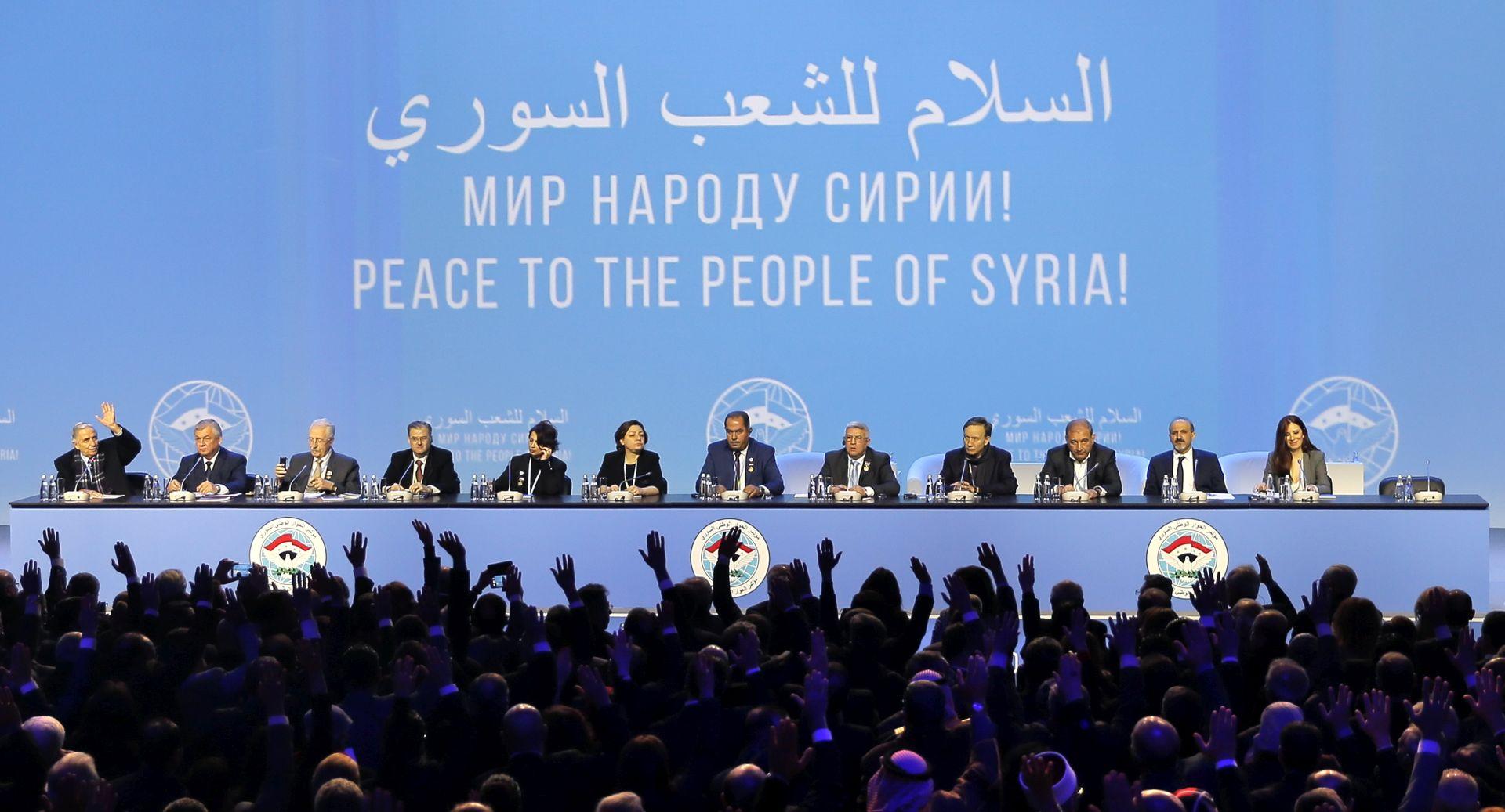 Završili teški razgovori o Siriji u Sočiju, ignorirani ključni zahtjevi oporbe
