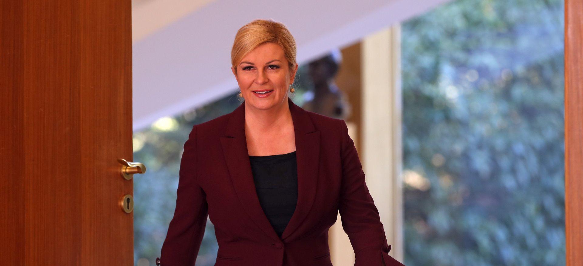 Predsjednica pozvala Vučića u posjet RH
