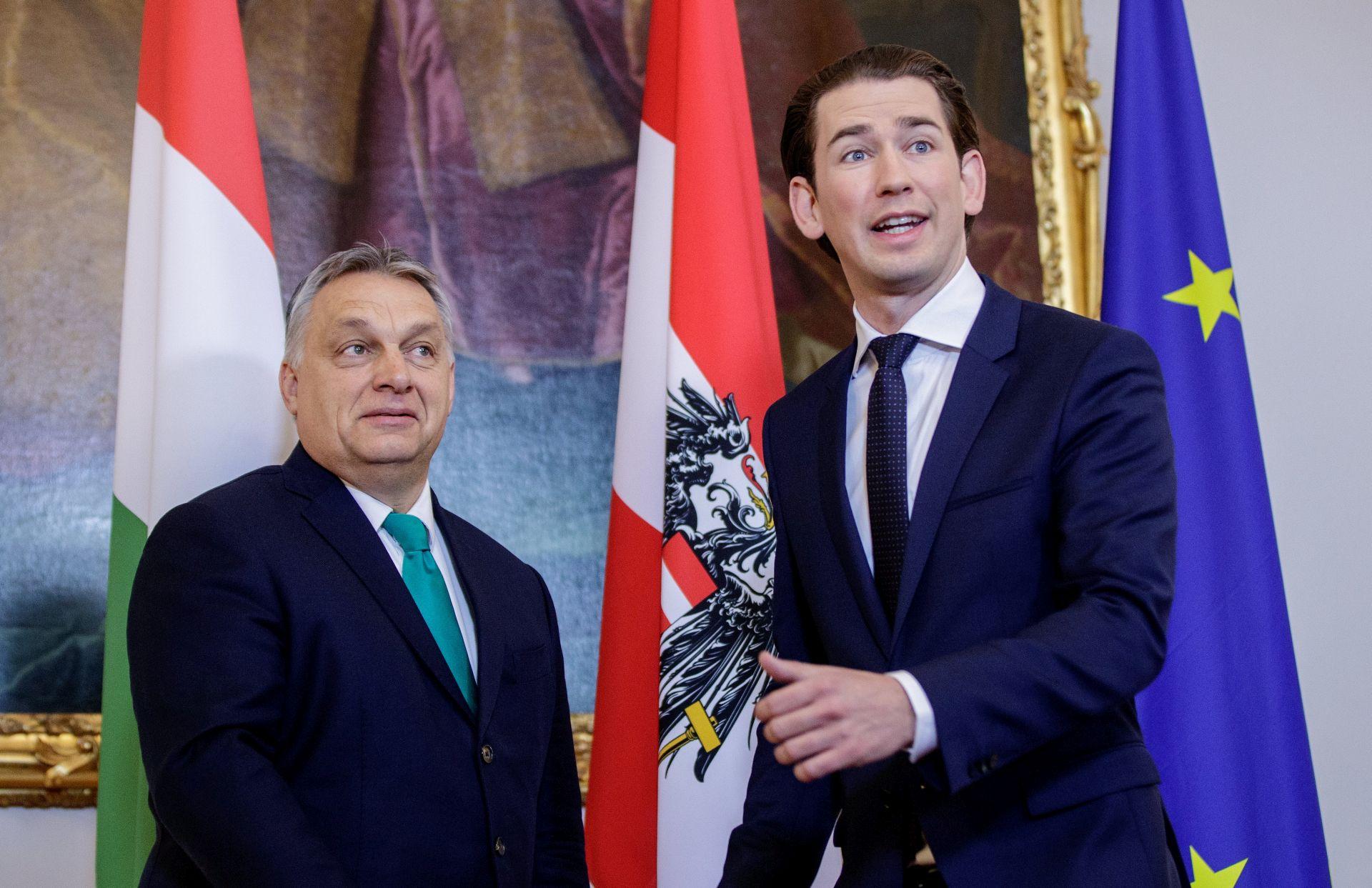 Kurz i Orban žele spajati istok i zapad EU