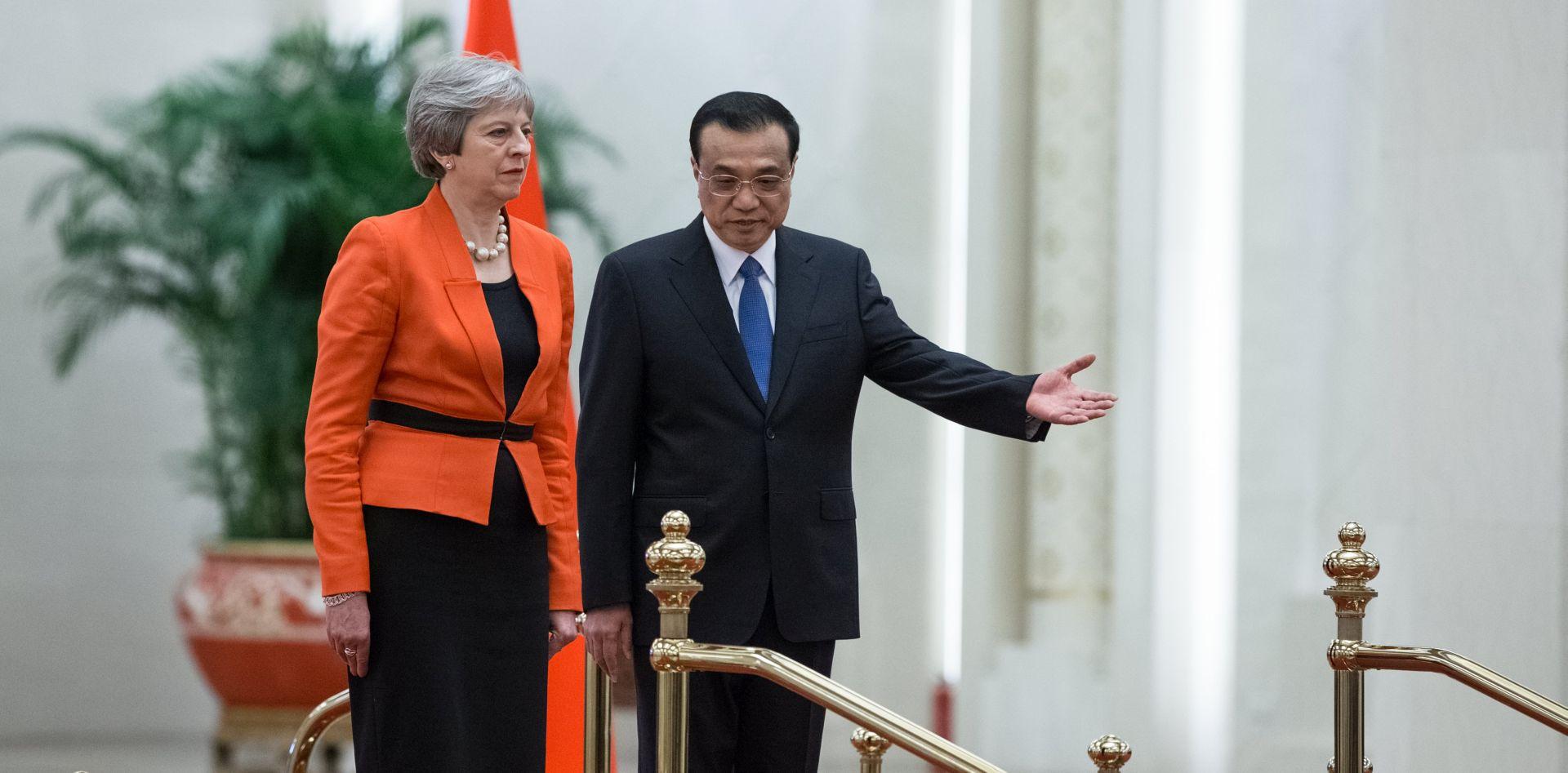 Theresa May doputovala u službeni posjet Kini