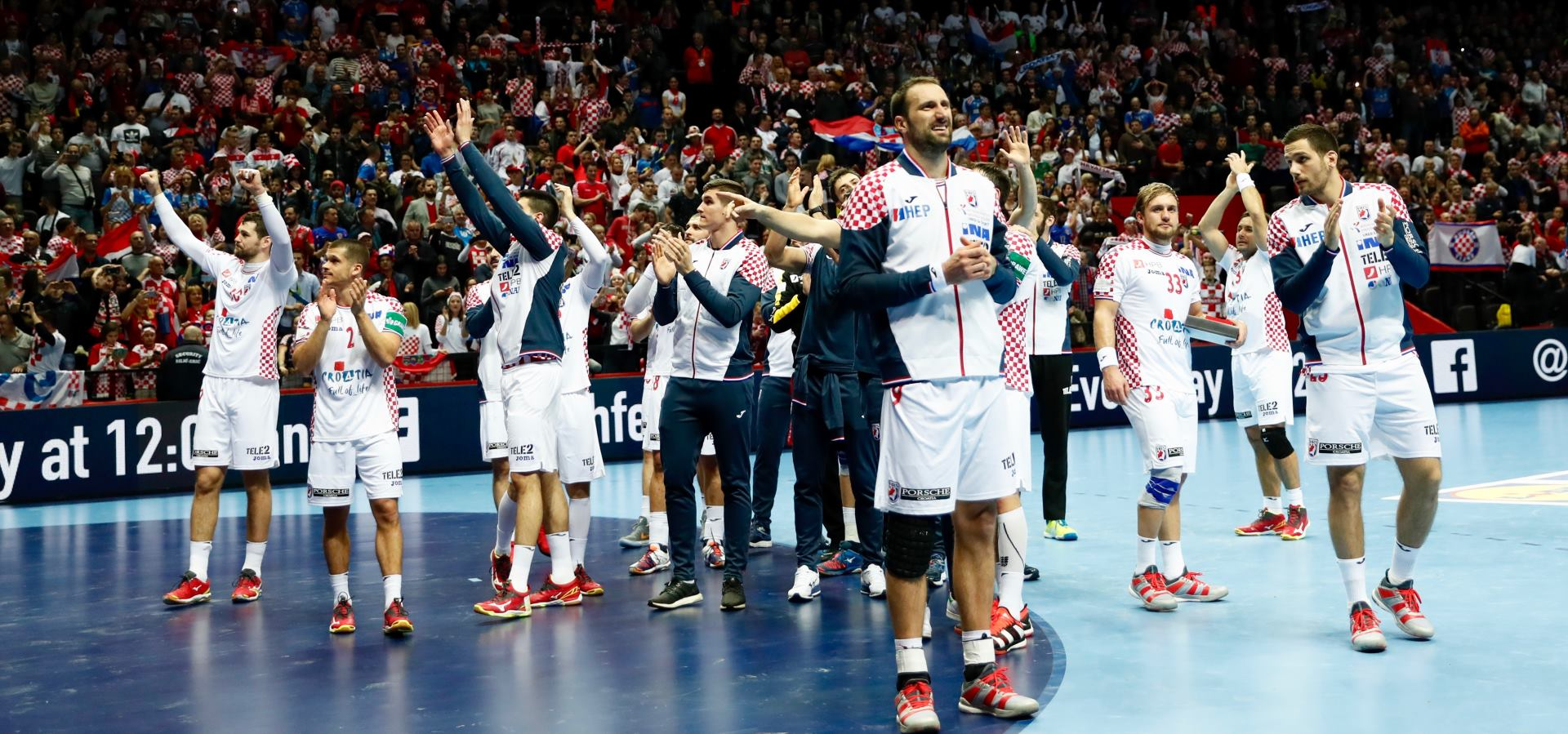 Pobjedom nad Islandom Hrvatska osigurala plasman u drugi krug Europskog prvenstva