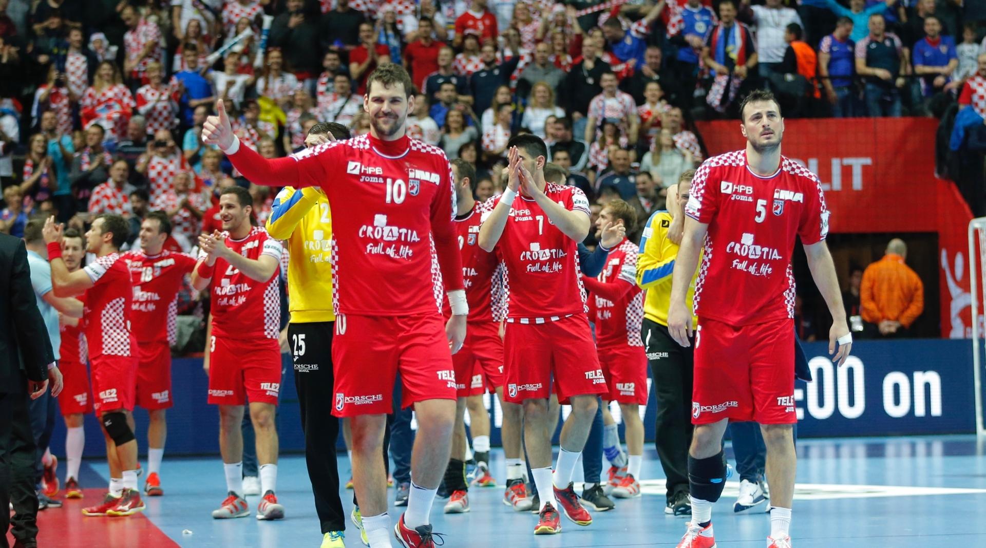 Hrvatska reprezentacija pobjedom otvorila Europsko prvenstvo u rukometu