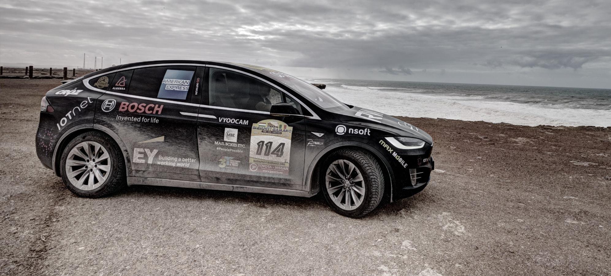FOTO: Hrvatski Team Tesla uspješno prešao Saharu i kreće prema cilju u Gradu Banjulu