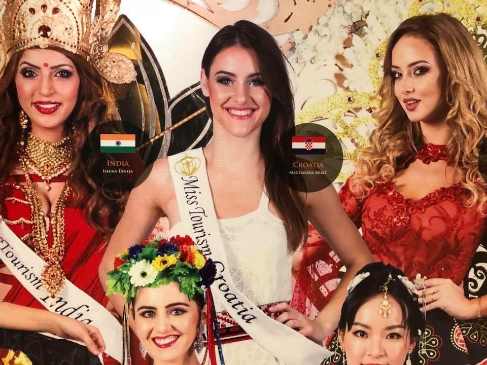 FOTO: VIDEO: Veliki uspjeh Magdalene Brkić na svjetskom izboru za Miss Turizma