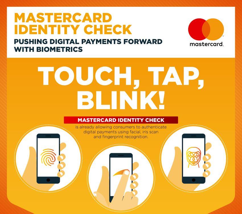 MASTERCARD® Vrijeme je za biometrijsku autentikaciju u sklopu digitalnih plaćanja