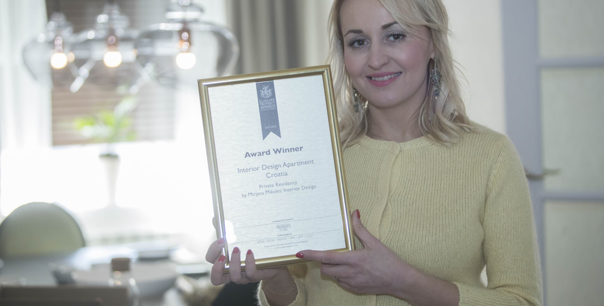FOTO: Mirjana Mikulec osvojila nagradu International Property Awards