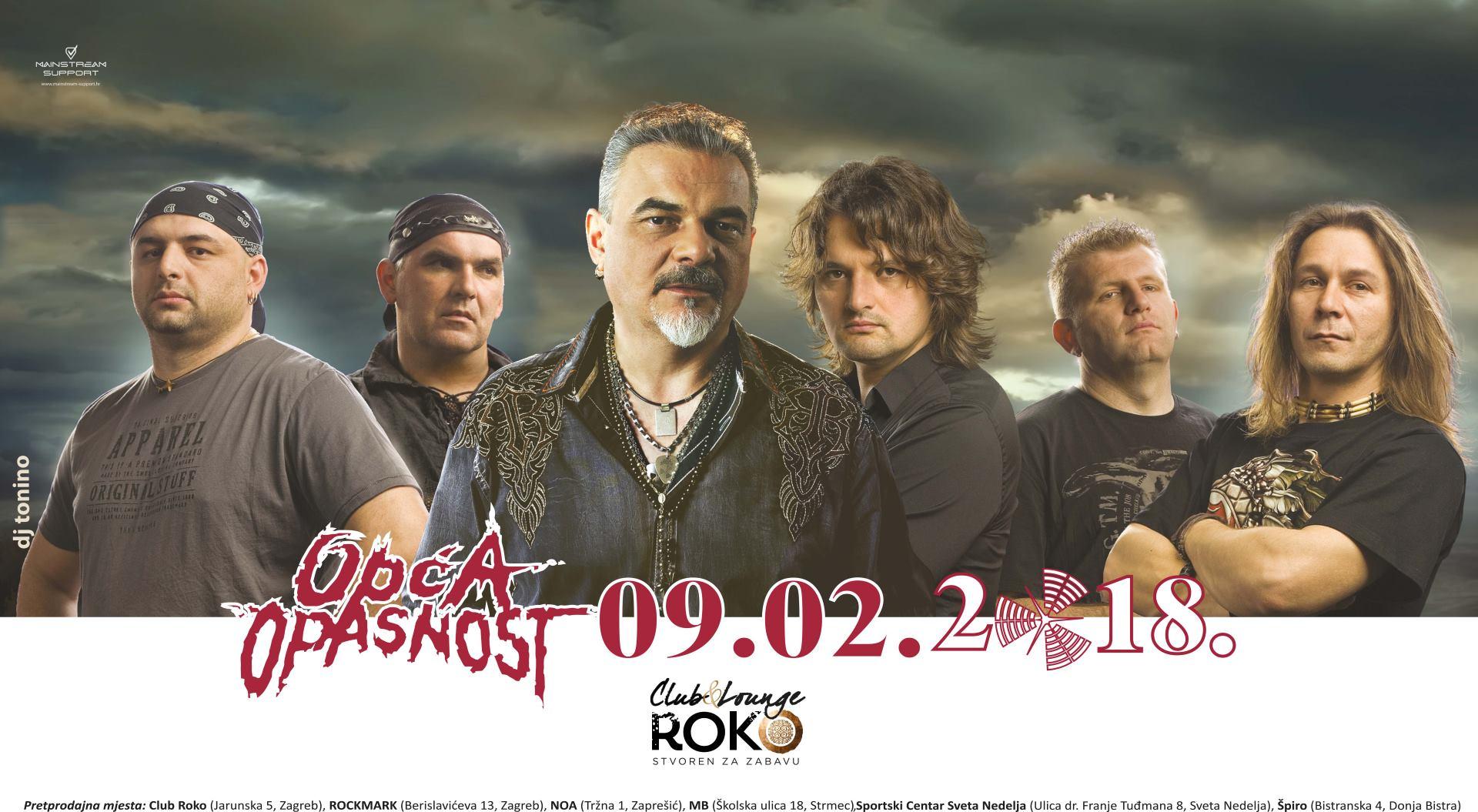 Rock grupa 'Opća Opasnost' će 09. veljače održati koncert u Zagrebu