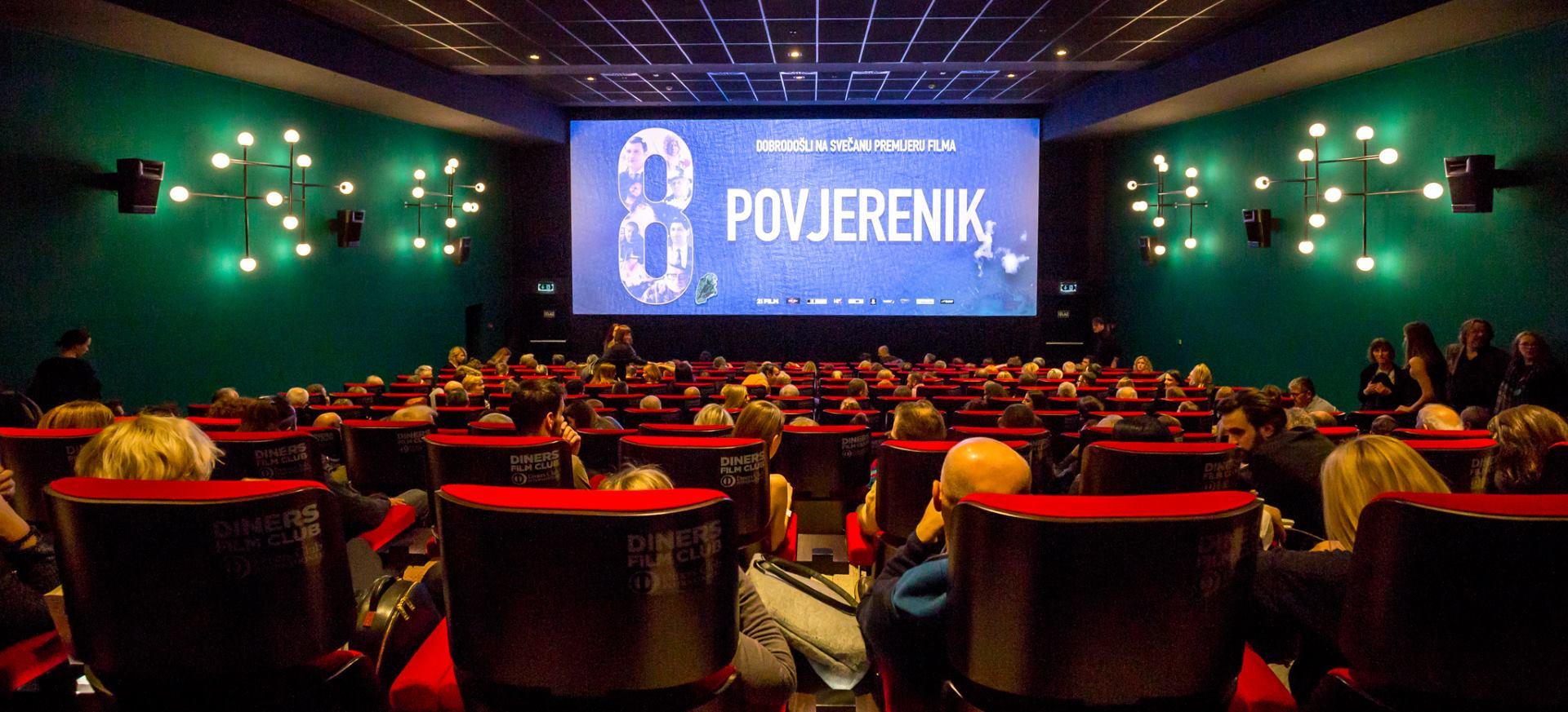FOTO: VIDEO: Film 'Osmi povjerenik' oduševio zagrebačku publiku i počinje s prikazivanjem u kinima