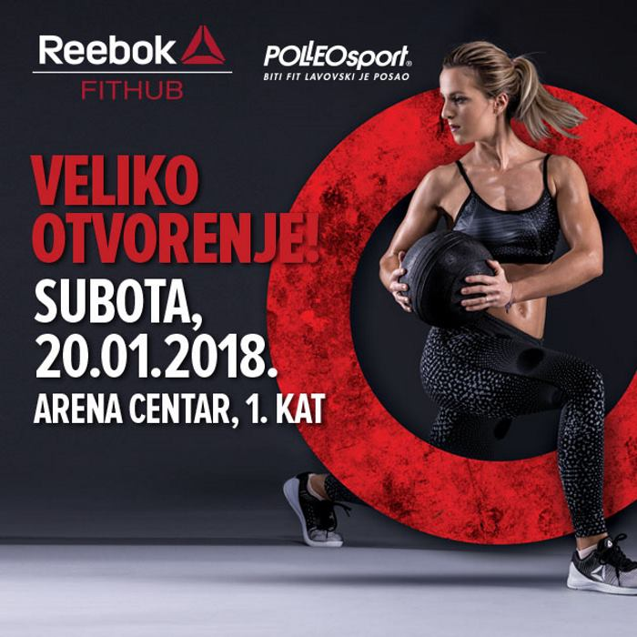 FOTO: Novi koncept poznatog sportskog odredišta – Reebok FitHub by Polleo Sport