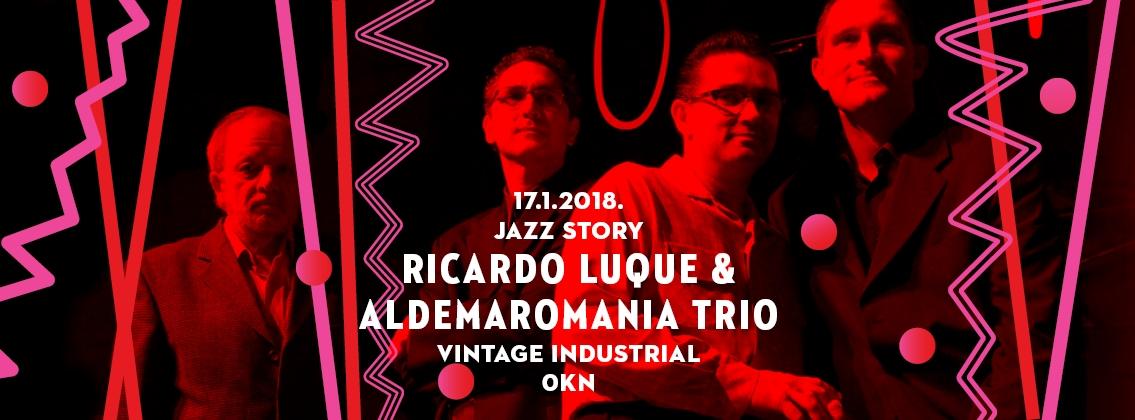 Ricardo Luque & Aldemaromania Trio predstavljaju glazbeni stil Onda Nueva
