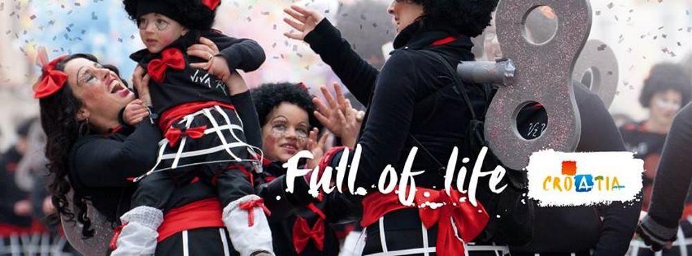 RIJEČKI KARNEVAL Dječja i Međunarodna karnevalska povorka u nedjelju(11. veljače)