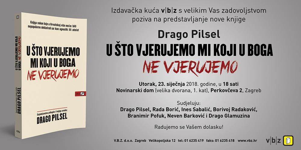 Predstavljanje nove knjige autora Drage Pilsela
