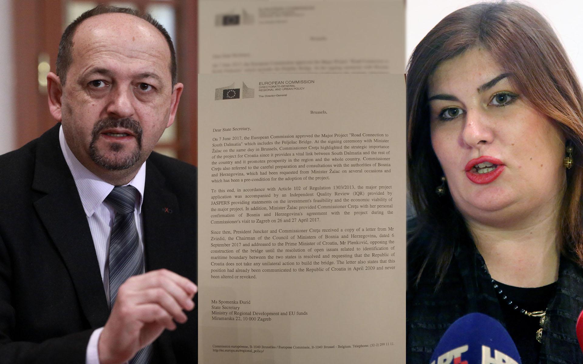 Je li ovo pismo o kojem govori Lovrinović?