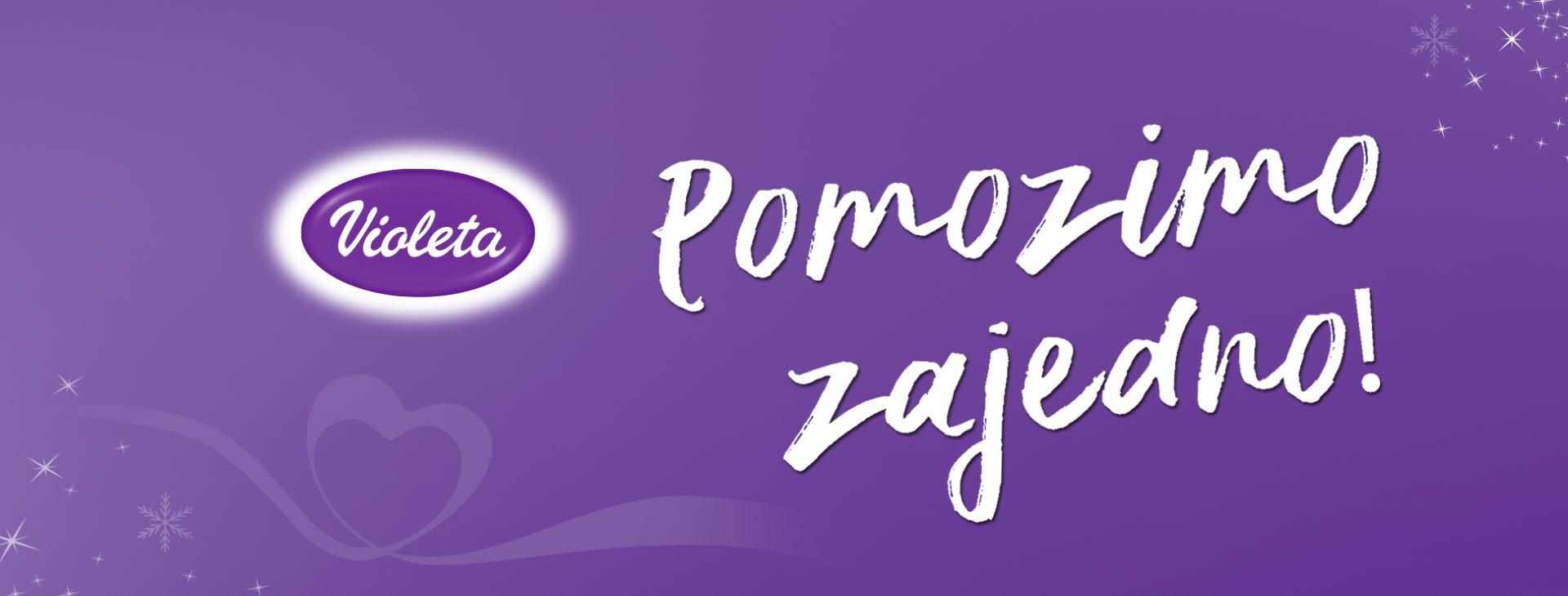 Tvrtka Violeta d.o.o. završava humanitarnu kampanju 'Pomozimo zajedno'