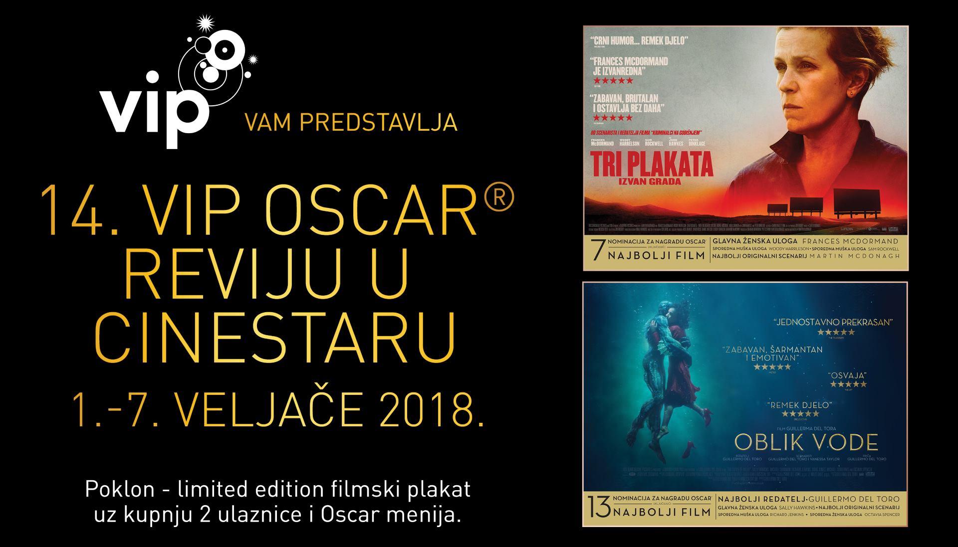 FOTO: Pogledajte filmove nominirane za nagradu Oscar u kinima s pet zvjezdica