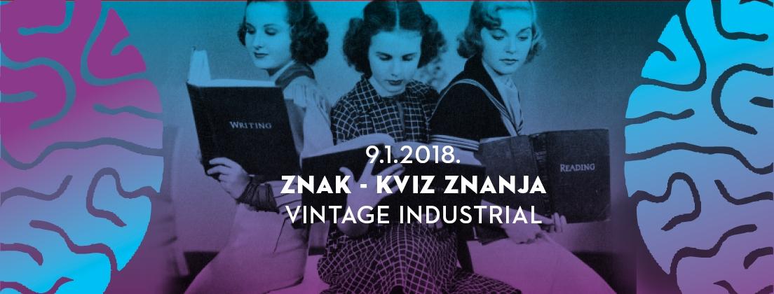 Kviz znanja u Vintage Industrialu