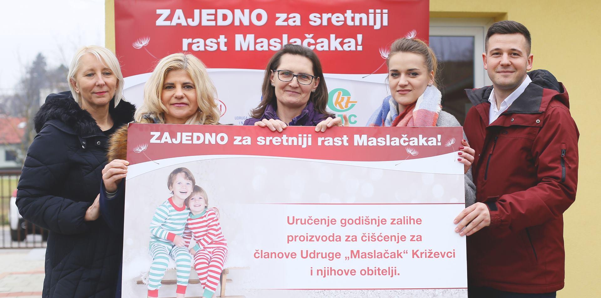 Uručenjem donacije uspješno završila  akcija 'Zajedno za sretniji rast Maslačaka'