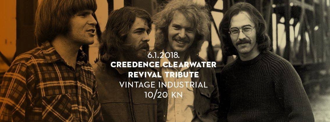 Creedence Clearwater Revival Tribute vodi vas na nostalgično rock putovanje