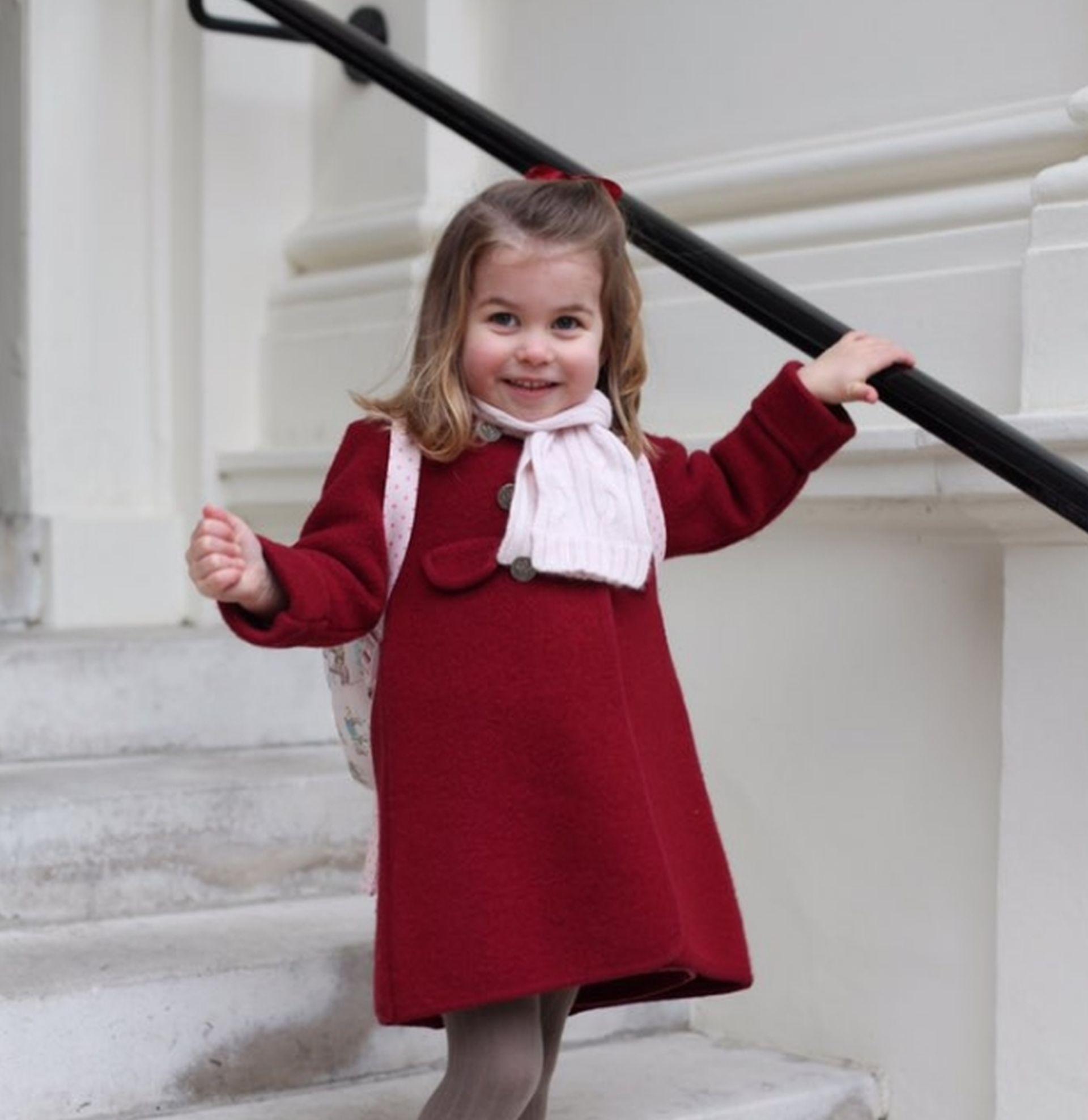 Princeza Charlotte krenula u vrtić