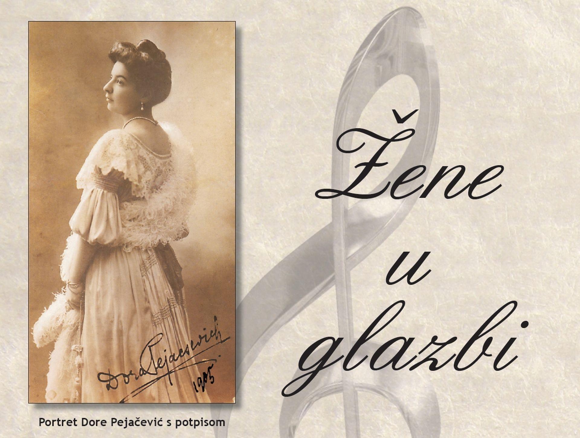 ŽENE U GLAZBI Koncerti povodom 95. obljetnice smrti Dore Pejačević