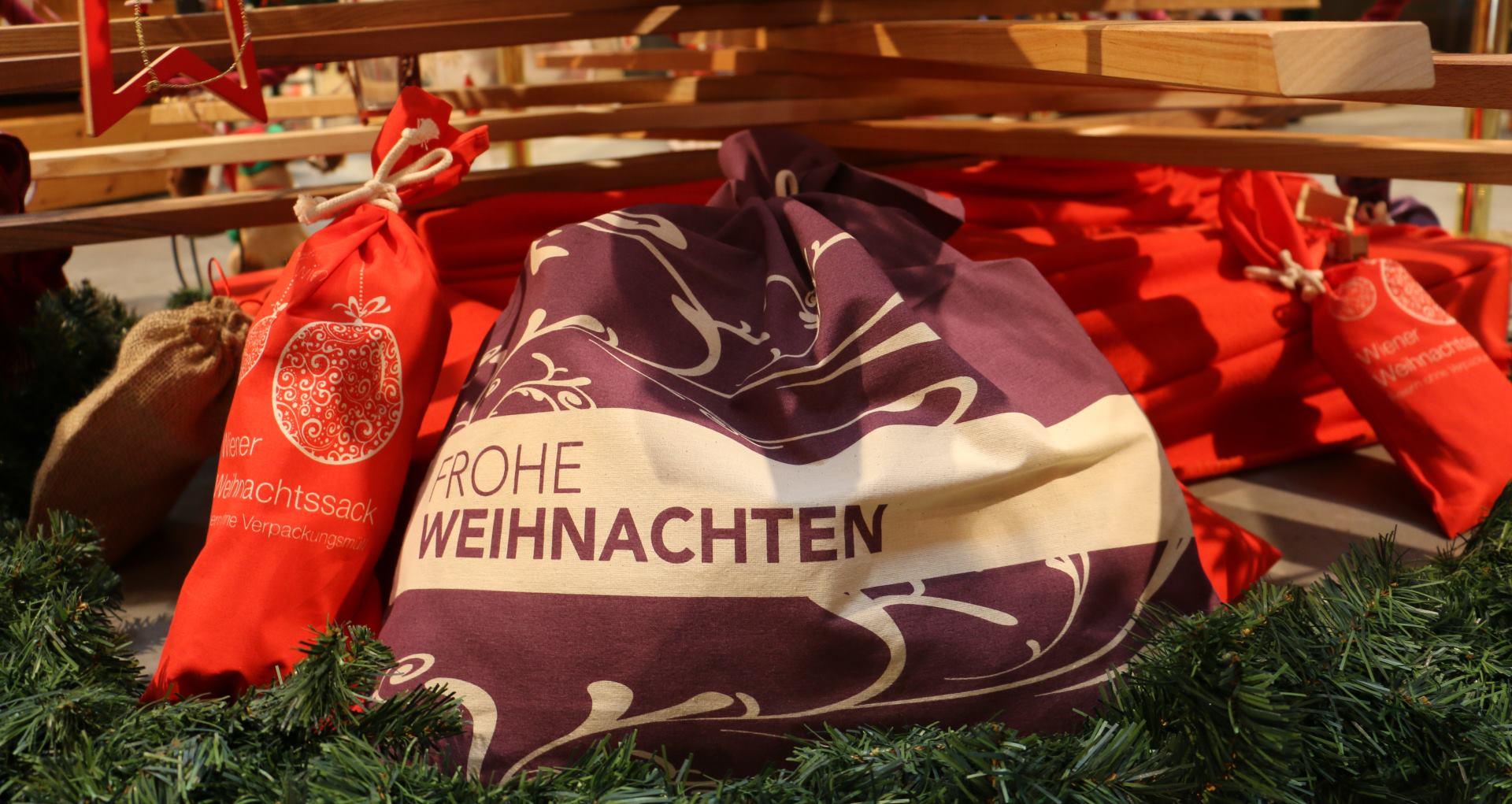 Ekološke božićne vrećice i prikupljanje božićnih drvaca u Gradu Beču