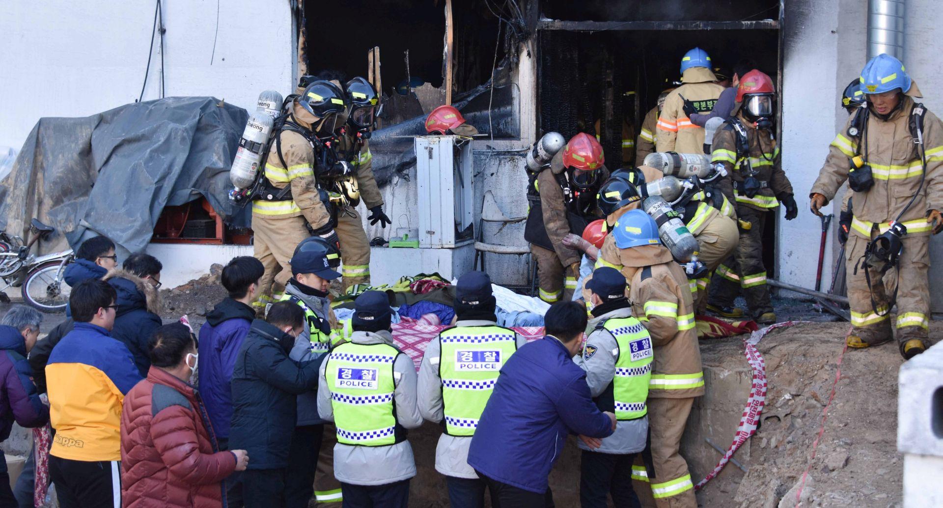 NAJMANJE 37 POGINULIH Požar u južnokorejskoj bolnici