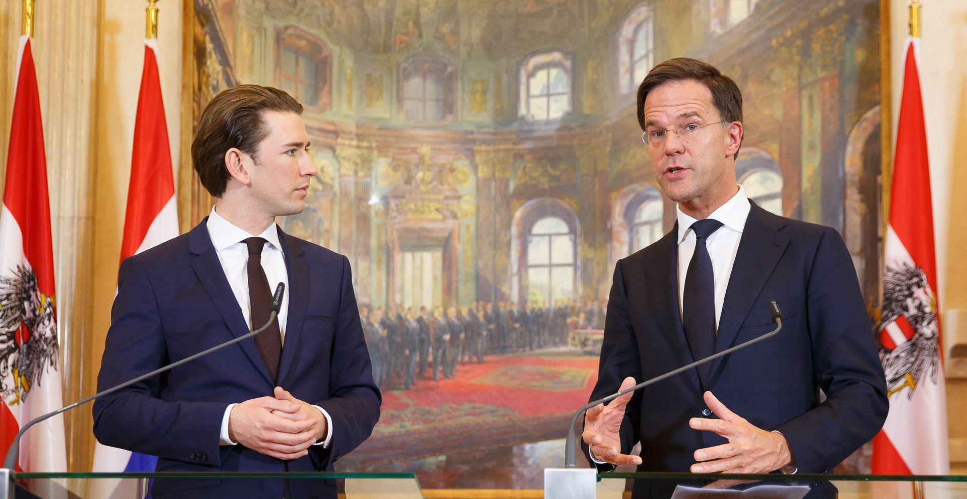 NAPETOST SLOVENIJE I HRVATSKE Zabrinutost Austrije i Nizozemske