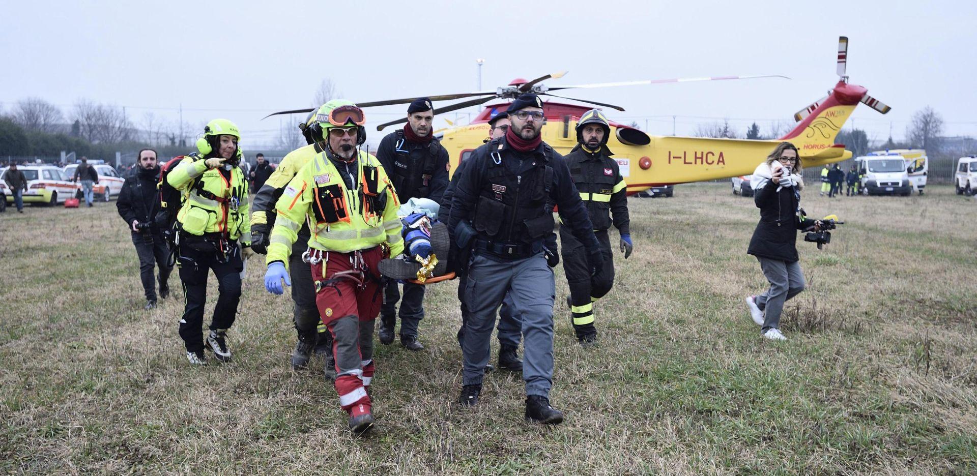 MILANO Tri osobe poginule u izlijetanju vlaka