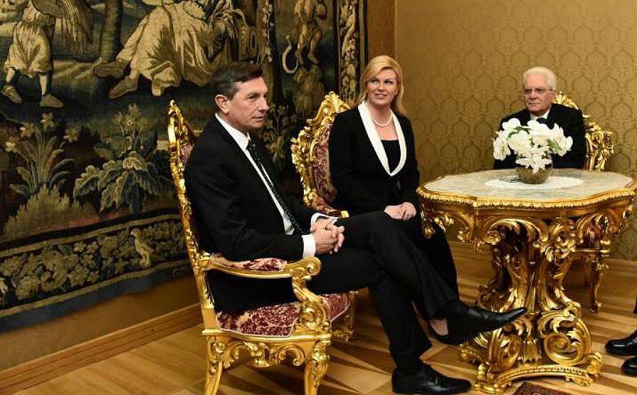 MAĐAR I AUSTRIJANAC NISU DOŠLI Pahoru se odazvali Grabar Kitarović i Matarela