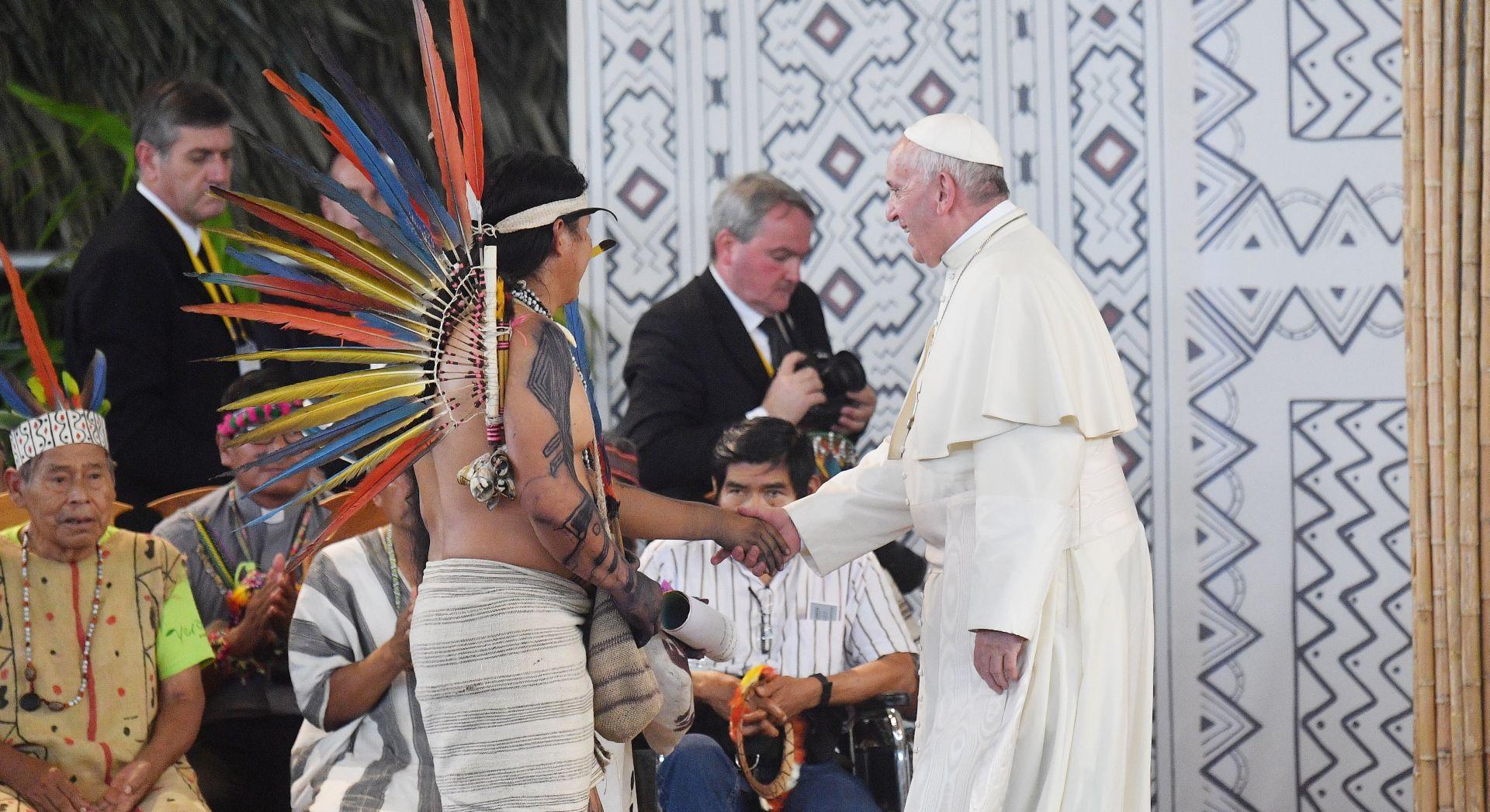 "PAPA: ""Amazonski domoroci nisu nikada bili toliko ugroženi"""
