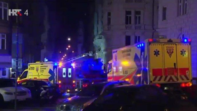 VIDEO: POŽAR U PRAGU Četvero mrtvih, četvero ozlijeđenih