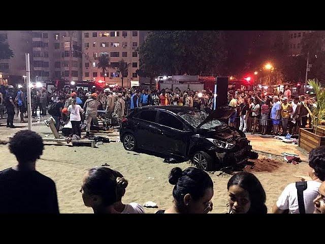 VIDEO: Autom pokosio šetače na Copacabani, poginula osmomjesečna beba