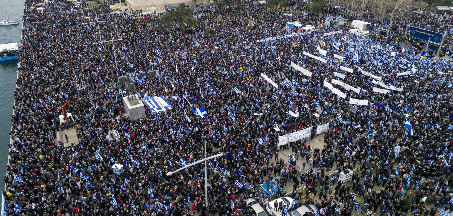 GRČKA Prosvjedi zbog imena Makedonije