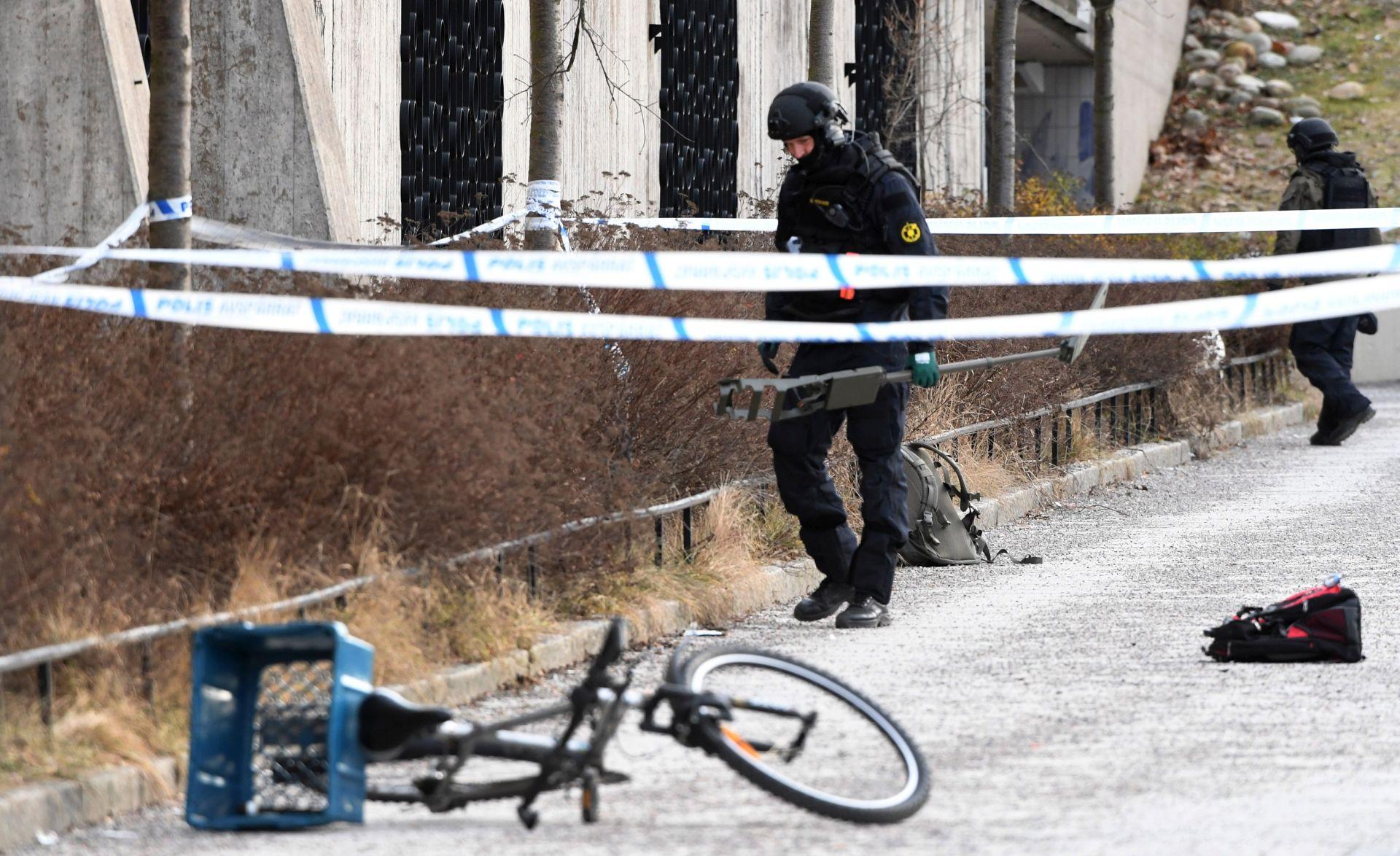 STOCKHOLM Dvoje ozlijeđenih u eksploziji