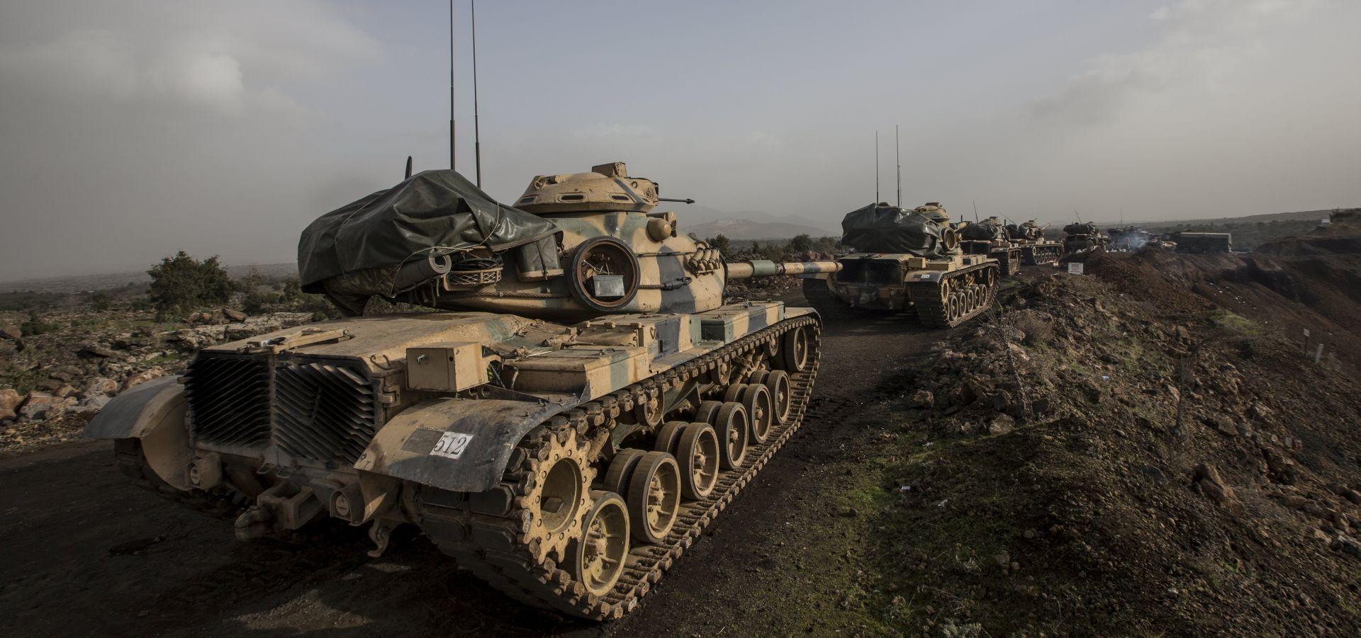 SIRIJA Ubijena 54 kurdska borca i proturska sirijska pobunjenika